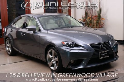 L/Certified 2014 Lexus IS 350